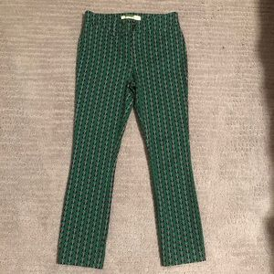 """Butterfly """"essential"""" slim cropped trouser."""